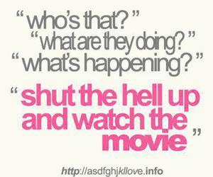 movie and shut up image