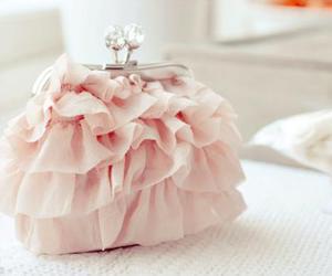 pink, bag, and purse image