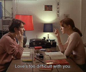 difficult, couple, and screencap image