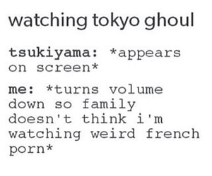 anime, funny, and ghoul image