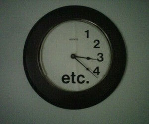 clock, etc, and grunge image