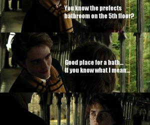 harry potter, cedric diggory, and funny image