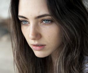 girl, amelia zadro, and blue eyes image