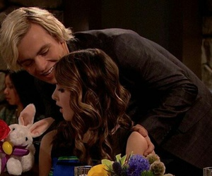 ross lynch, auslly, and laura marano image