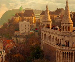 budapest, city, and castle image
