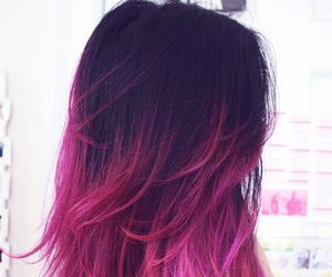 hair and pink image