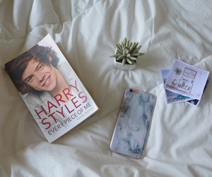 bed, marble, and Harry Styles image