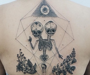 tattoo and alien image