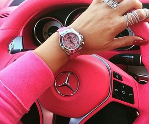 benz, love, and girl image