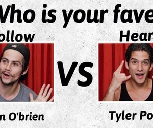 dylan o'brien and tyler posey image