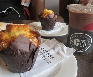 cafe, cake, and chocolate image