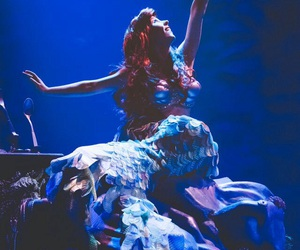 ariel, photography, and the little mermaid image