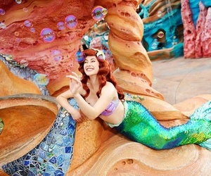 ariel, face character, and disney image