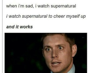 actor, supernatural, and funny image