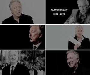 actor, alan rickman, and beautiful image
