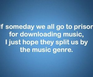 music, funny, and prison image