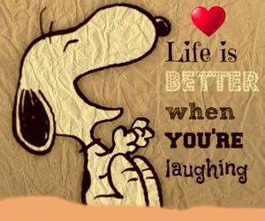 laugh, life, and happy image