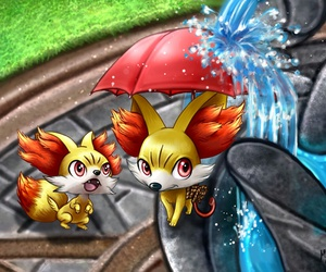 pokemon, pokemon cute, and fynx image