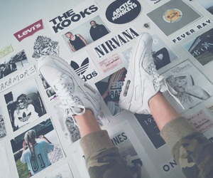 adidas, arctic monkeys, and bonfire image