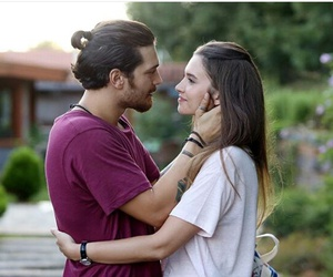 kiss, loved, and cagatay ulusoy image