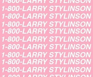 larry, larry stylinson, and pink image