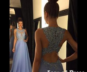 dress, prom dress, and fashion dress image