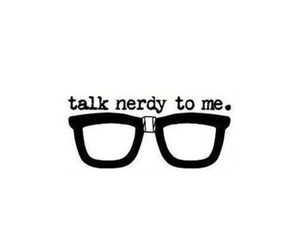 nerd, glasses, and nerdy image
