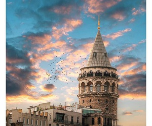 istanbul and galata kulesi image