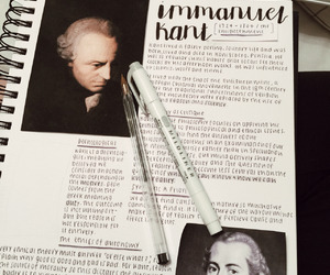kant, notes, and philosophy image