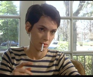 girl interrupted, winona ryder, and cigarette image