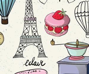 paris, wallpaper, and cute image