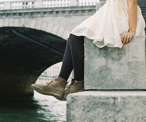 girl, dress, and shoes image