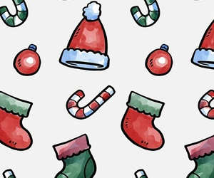 christmas, new year, and wallpaper image