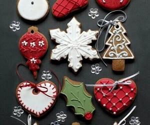 christmas, cockies, and wallpaper image