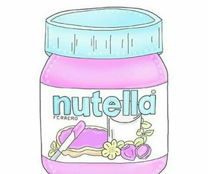 nutella, overlay, and chocolate image