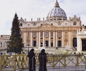 rome, travel, and vatican image