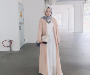 hijab, fashion, and hijab fashion image