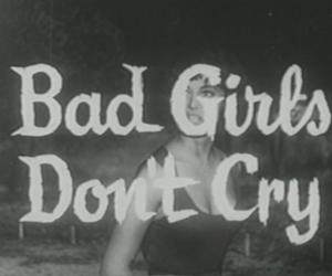 girl, cry, and bad image
