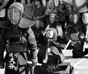 black and white, cool, and japanese image