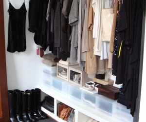 closet, shoes, and wardrobe image