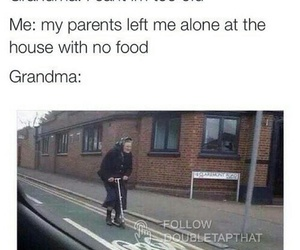 grandma, funny, and food image