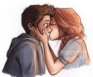 love, kiss, and stydia image