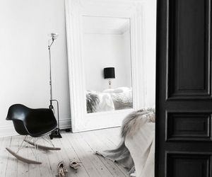 interior, room, and bedroom image