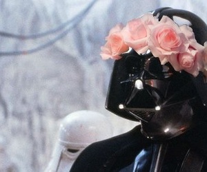 Anakin Skywalker, flowers, and funny image