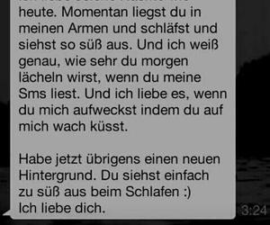 love, sweet, and german image