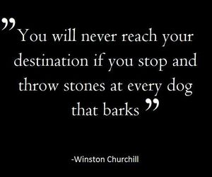 churchill, goal, and quote image