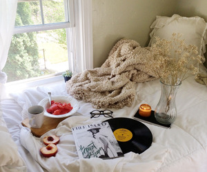 bedroom, deco, and home image