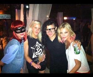 selena gomez, skrillex, and Ellie Goulding image