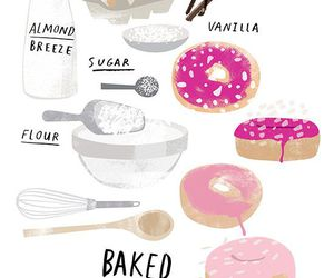 cook, doughnuts, and love image