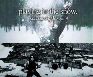 funny, rock, and snow image